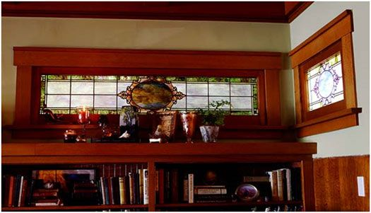 craftsman stained glass windows | Los Angeles Craftsman Remodel: Peeling Back the 100-Year-Old Layers of ...