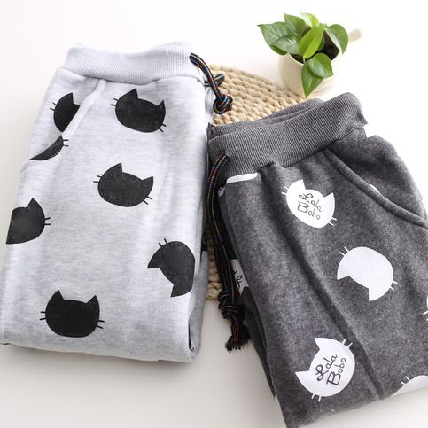 Free Shipping Cute Cat Print Fleece Jogger Pants sold by Moooh!!. Shop more products from Moooh!! on Storenvy, the home of independent small businesses all over the world.