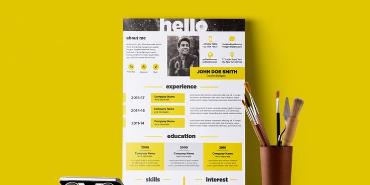 149 best Free Resume Templates images on Pinterest Free resume