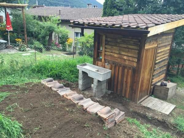 Garden Hut Made Out Of 20 Pallets Pallet Sheds, Pallet Cabins, Pallet Huts & Pallet Playhouses