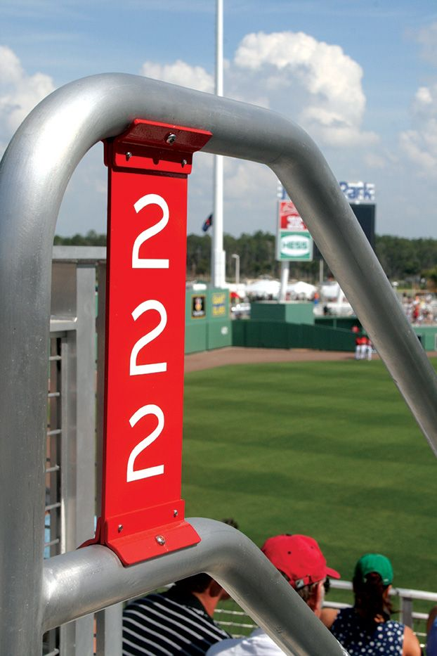 Section numbers - Fenway South