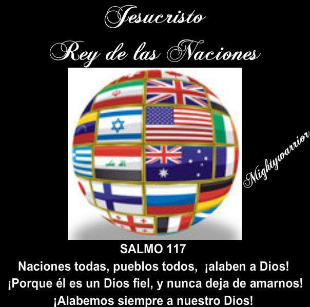JESUS PODEROSO GUERRERO: Salmos 117 = Fidelidad Eterna,