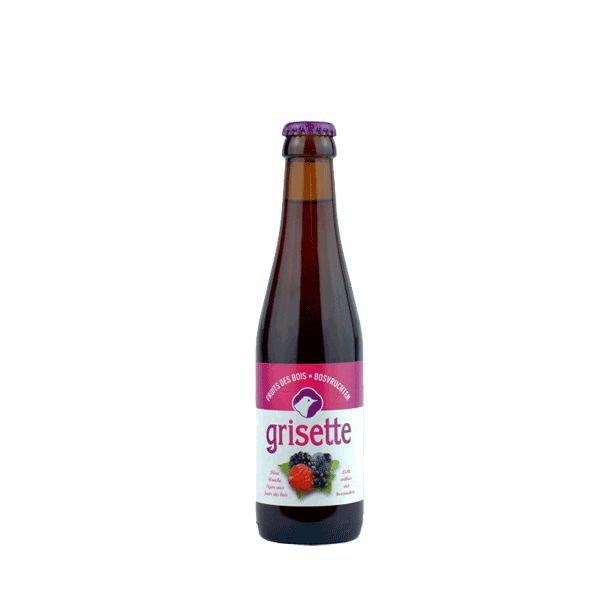 Grisette Fruits des Bois Bière Brasserie Friart 25 CL