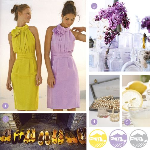 Lilac Yellow Gray Color Scheme Change The To A Muted Champagne