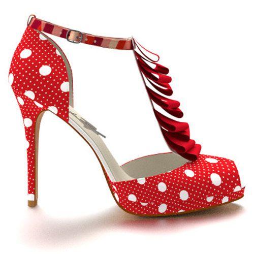 Des chaussures d'inspiration années 50                                                                                                                                                                                 Plus
