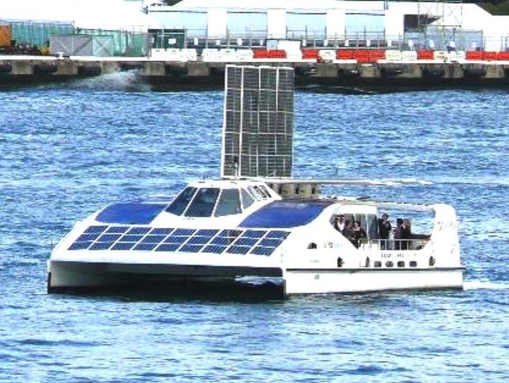 Solar Powered Boats Sailing Boat Solar Renewable