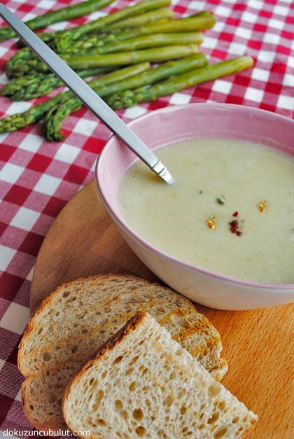 Kuşkonmaz çorbası