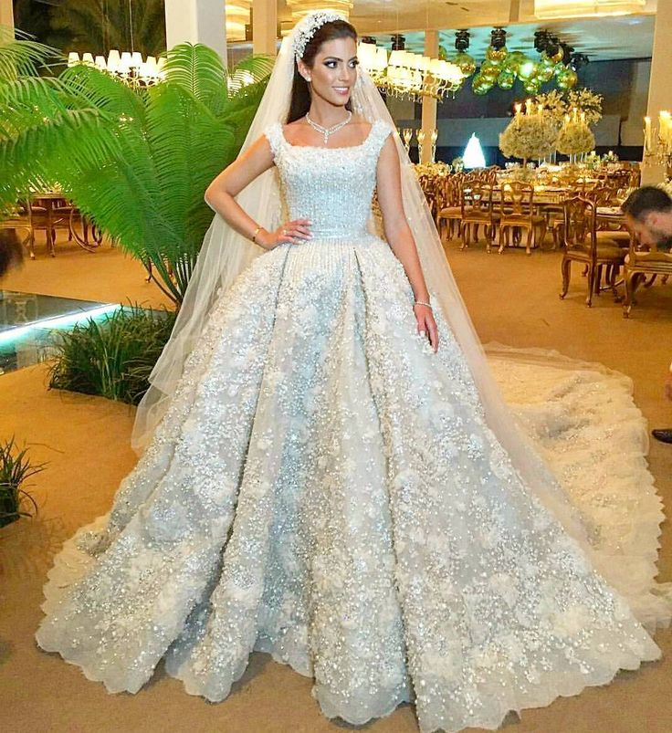 2167 best bridal dress images on pinterest for Lebanese wedding dress designers