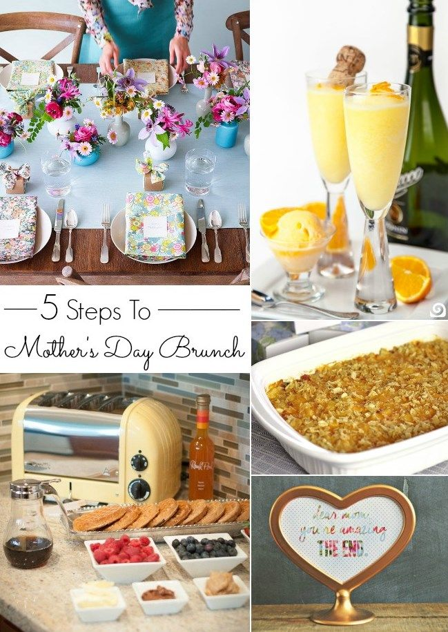 MOTHER'S DAY BRUNCH IN 5 EASY STEPS: Party Food, Neas Celebrity