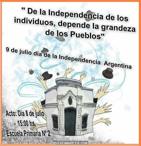 Invitaciones Acto 9 De Julio Buscar Con Google 25 De