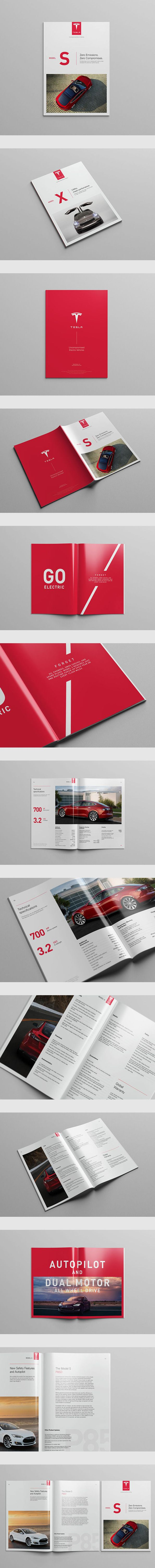 Tesla Model S Catalog by Serge Mistyukevych
