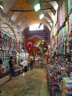 Grand Bazaar. Istanbul, Turkey.