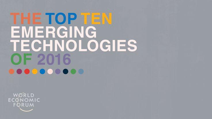 World Economic Forum: Top Ten Emerging Technologies on Behance