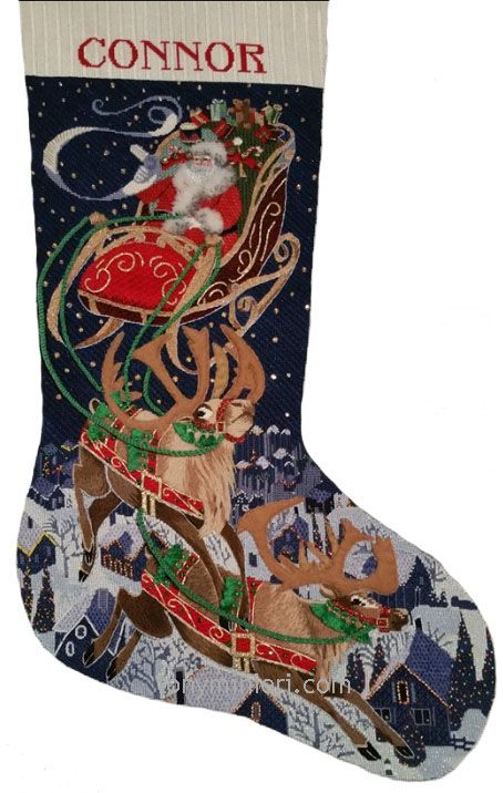 119 best Needlepoint Christmas Stockings images on Pinterest ...