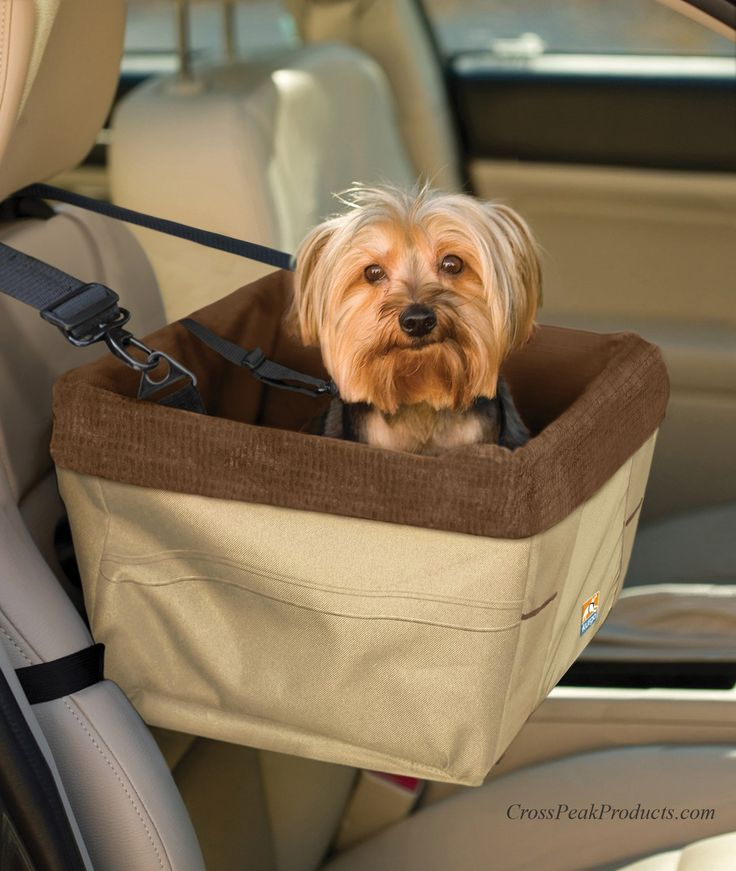 Kurgo SkyBox Dog Car Seat & Carrier in One Most small dogs and puppies love to be right on the lap of their owner, especially when they are driving in the car. However, this is unsafe for both. A simp