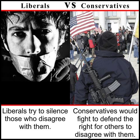 a comparison of ideologies of conservatives and liberals To raise the political iq of everyday americans by educating them about the ideological similarities and differences between conservatives and liberals with a special emphasis on our next generation of business, financial, educational, scientific, economic, technological, political and military leaders.