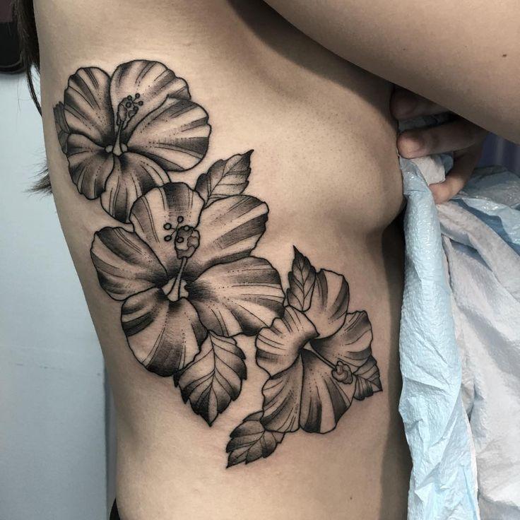 Hibiscus Flower Tattoo Stencil: 36 Best Purple Flower Tattoo Designs Images On Pinterest