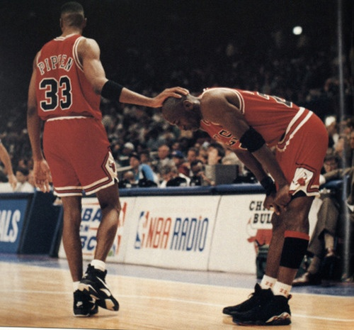 Back when basketball was good to watch... loved watching these 2 guys play!!