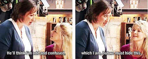 Miranda Hart knows what it's like <3