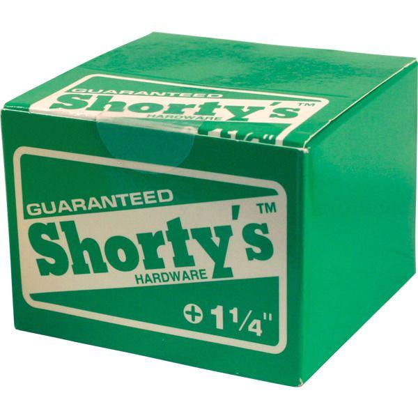 Shortys Skateboards Skateboard Hardware Set 10 sets/box - 1 1/4 - Warehouse Skateboards