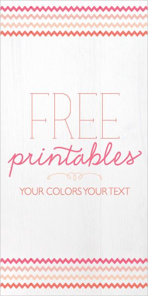 Add your text to the template & print! great for cards, frames,