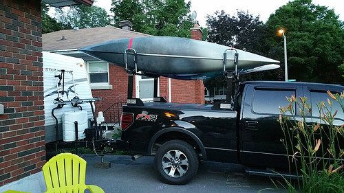 Here S How Your Diy The Stake Pocket Kayak Rack On Your