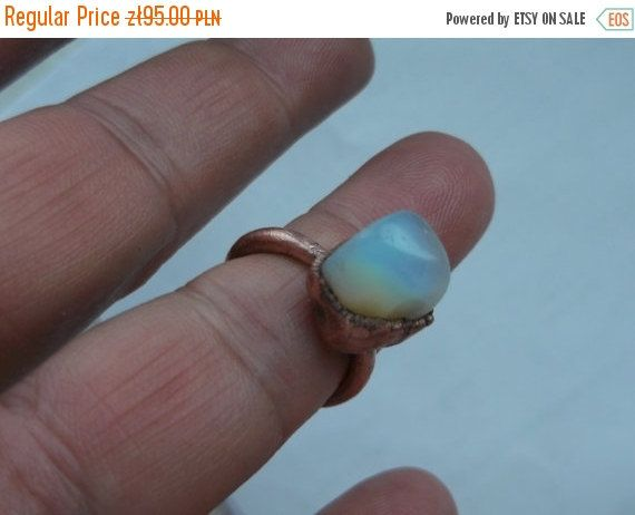 free shipping Opal ring  Opal jewelry Dainty ring by fripperyart