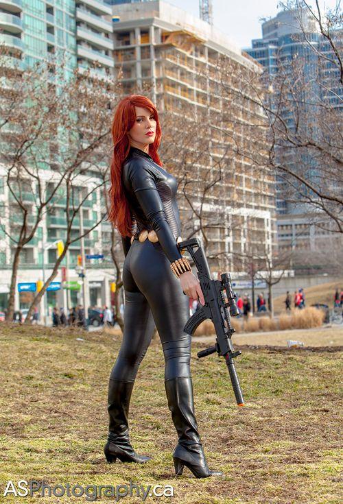 Black Widow Cosplay The Menga