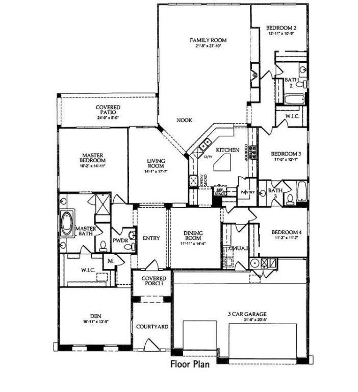 3714 Linda Vista Avenue Rio Rancho Nm 87124 Pulte Santa Cruz Model Over 3000 Sq Ft Loma Colorado Linda Vista Rio Rancho Floor Plans