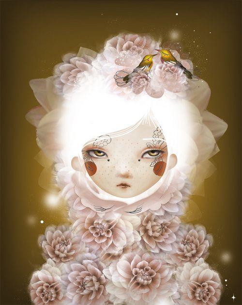 Adolie Day - Flower art (I think I'm in love)