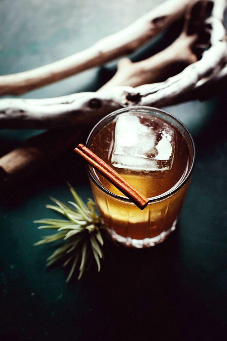 Autumn punch: Vodka, Ginger liqueur, Apple Cider