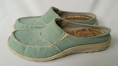 Skechers Ladies Raggae Fest Aqua Clogs Mules Shoes Size US 7.5 ~Euro 37.5~121266