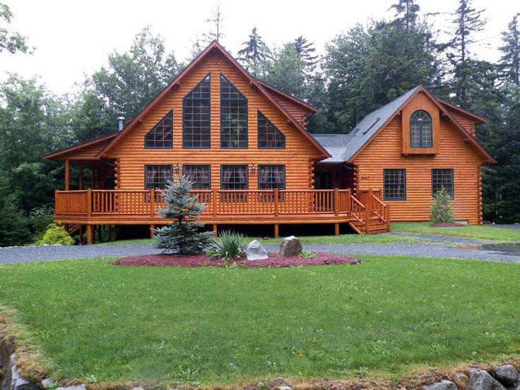 Best 25 Log Cabin Mobile Homes Ideas On Pinterest