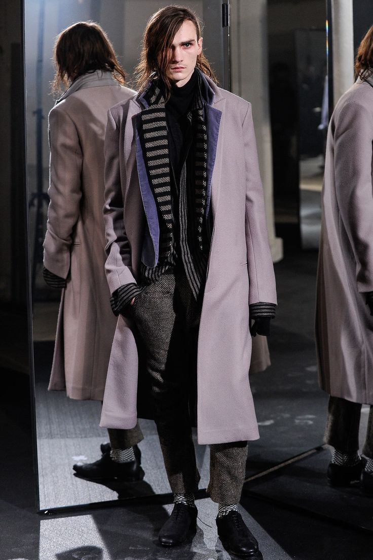 See the complete Haider Ackermann Fall 2014 Menswear collection.