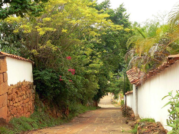 Una calle en Barichara by Alexander Toro Restrepo on 500px