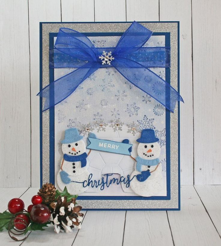 Created by Melissa Oeters using products from the #cutechristmas line by #crafterscompanion