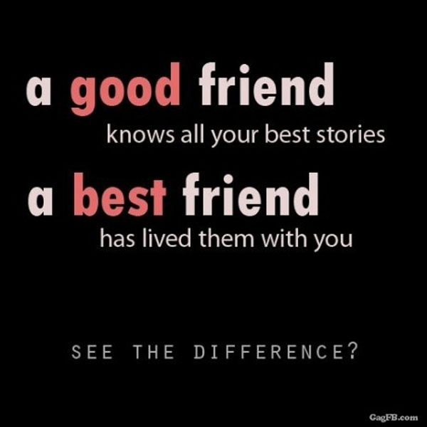 Great Best Friend Quote