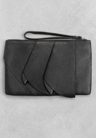 VIDA Leather Statement Clutch - Aspen Leather Clutch by VIDA Sq6juPODUa