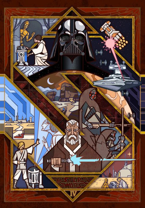 Jian Guo | Star Warsa new hopethe empire strikes backreturn of the jedithe force awakens