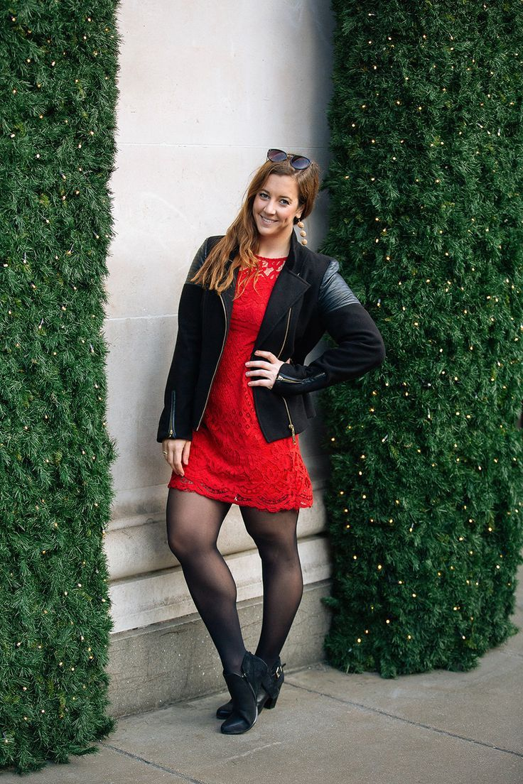 Red Dress In London Sparkles And Shoes Red Dress Red Dress Outfit Black Dress Outfit Casual [ 1104 x 736 Pixel ]