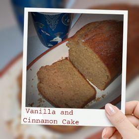 Stick Stitch Cut: Vanilla and Cinnamon Cake - thermo cooker recipe