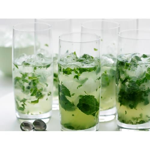 Gin mint juleps recipe - By Australian Table, A variation on the American classic cocktail, this gin-based concoction is fresh and fizzy.