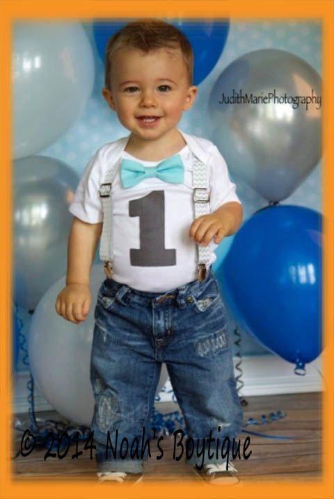 Boys First Birthday Outfit  Baby Boy Birthday by NoahsBoytiques, $23.00