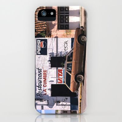 Mexico street scene iPhone & iPod Case by Bruce Stanfield - $35.00