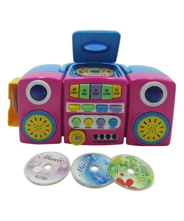 Look at this Lucky Star Pink CD Player on #zulily today!
