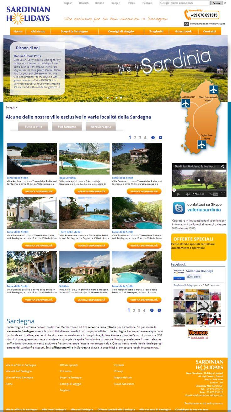 New Sardinian Holidays Srl è una società che opera nell'affitto di ville da quasi 20 anni, specializzata nella gestione diretta di ville esclusive che posseggono tutte o almeno una delle seguenti caratteristiche: piscina privata, vista mare e a pochi passi dalla spiaggia. http://www.sardinianholidays.com/