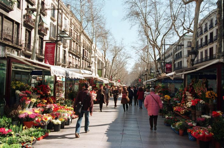 Las Ramblas – Barcelona, Espanha