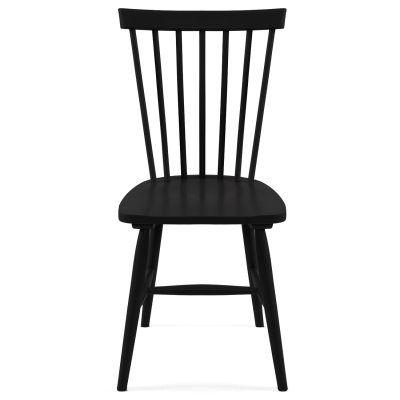 Wood pinnatuoli H17, musta ryhmässä Huonekalut / Tuolit / Tuolit @ ROOM21.fi (123572)