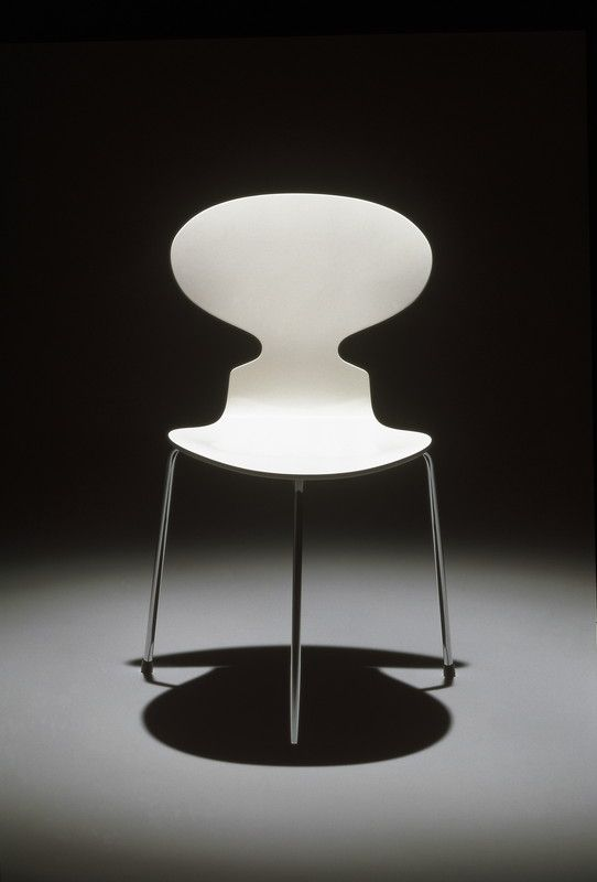 Arne Jacobsen, Ant chair, 1952. Via Fritz Hansen
