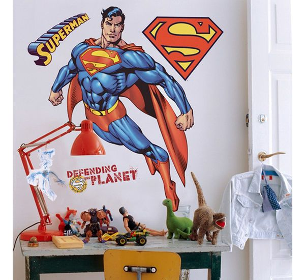 Superman themed Wall Stickers!